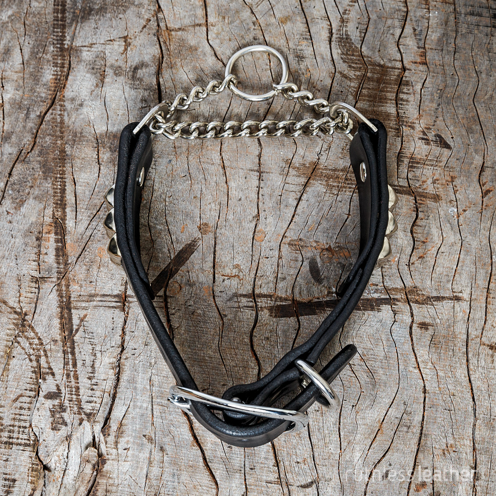 ruthless leather wide rocknrolla martingale
