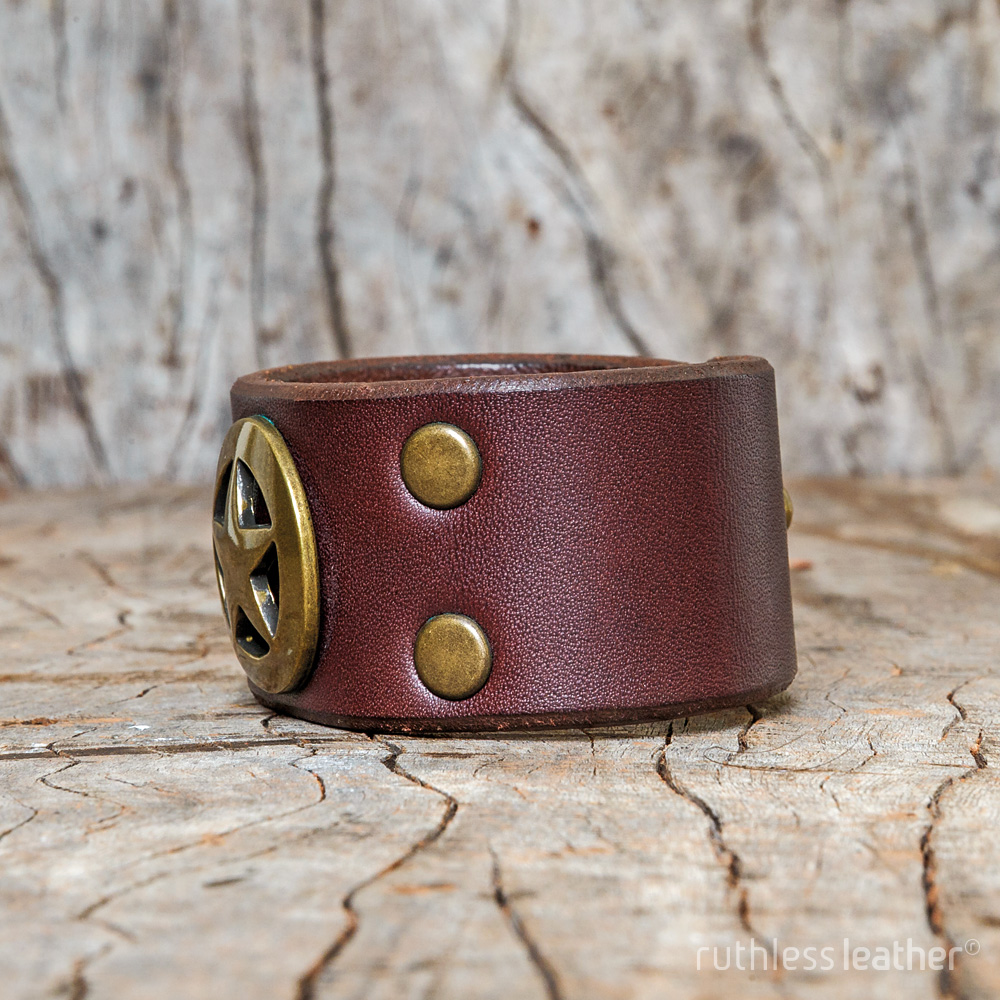 ruthless leather lone ranger cuff