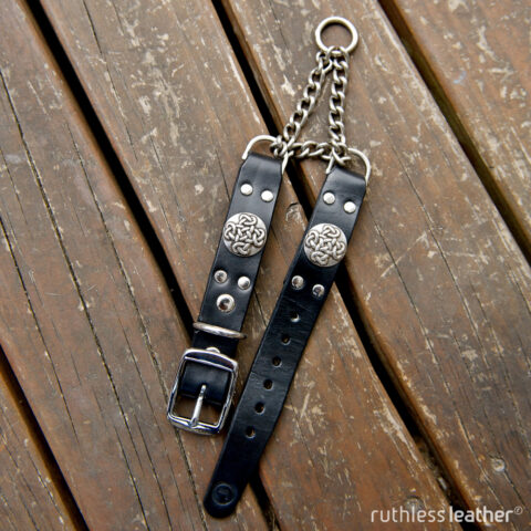 ruthless leather diddley eye martingale