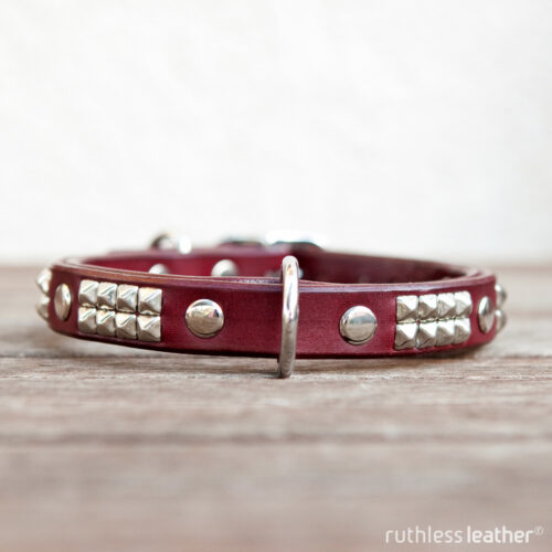 ruthless leather narrow rocknrolla