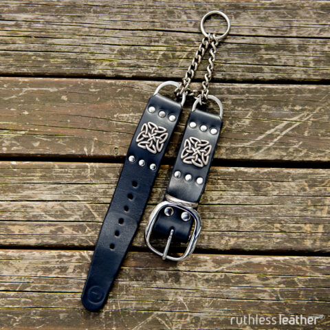 ruthless leather braveheart martingale