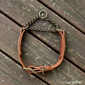 ruthless leather regular rocknorolla martingale