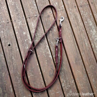 ruthless leather three-way handsfree leash