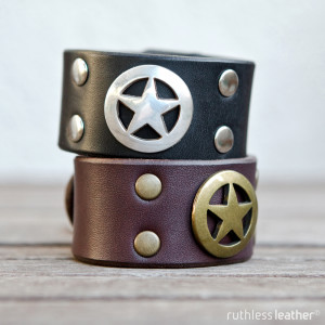 ruthless leather lone ranger cuffs