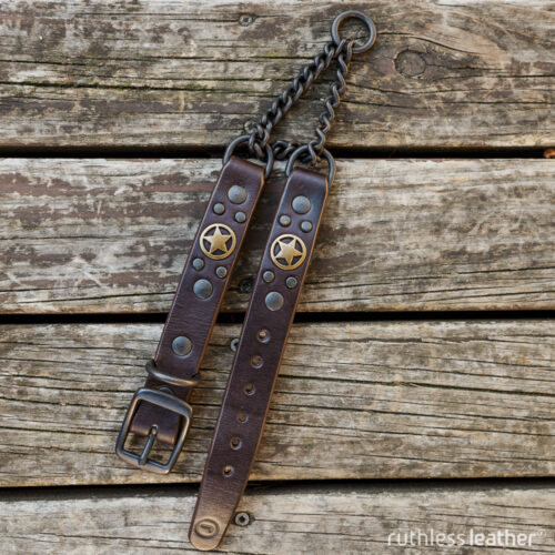 ruthless leather regular lone ranger martingale