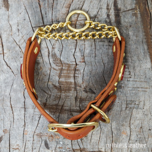 ruthless leather wide nightowl martingale