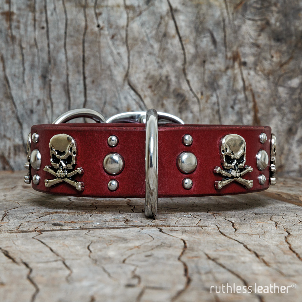 ruthless leather jolly roger