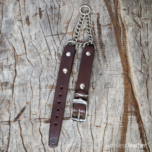ruthless leather regular no frills martingale