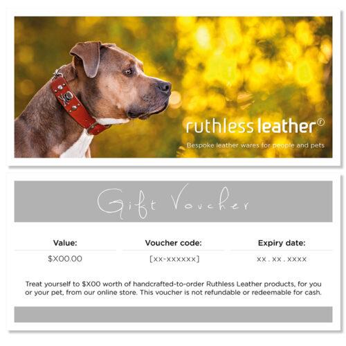 ruthless leather gift voucher