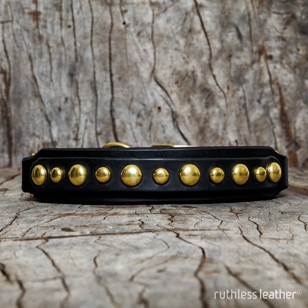 ruthless leather bubbler sighthound collar